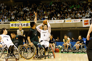 wheelchair view (Prime Minister Cup Competition)