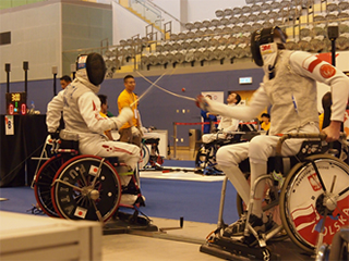 IWAS Wheelchair Fencing Grand Prix 2014 Hong Kong